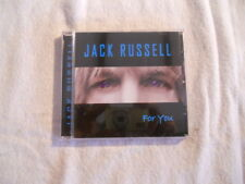 """Jack Russell """"For You"""" 2002 cd Ulftone Music  Great White Singer NEW"""