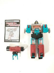 Transformers G1 100% Original 1985 Perceptor Autobot Scientist