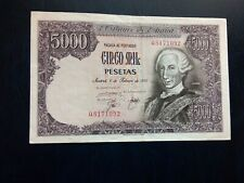 More details for spain - 5000 pesetas 1976 - rare banknotes