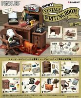 PEANUTS SNOOPY VINTAGE WRITING ROOM 8 type Complete Set Miniature Toy Re-Ment