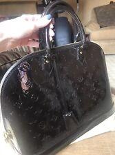 Louis Vuitton Alma MM Vernis Terra D'ombre Handbag 100% Authentic!!
