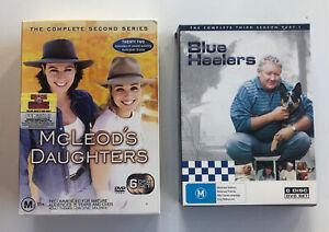 McLeod's Daughters/Blue Heelers. DVD Sets.
