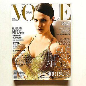 Vogue España Spagna Spain septiembre 2006 Missy Rayder Tesh Gucci Leopardo
