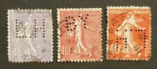 France Semeuse - Timbre(s) Perfin's (O) - TB - 5850