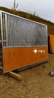 Pferdebox Pferdeboxen BOX Boxen Pferde 3 Stück Trennwand 3,5m Stall Pferde