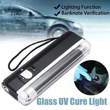 UV Cure Lamp Ultraviolet LED Light Car Auto Glass Windshield Repair Kit Black 🔥