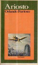O10 Orlando Furioso Ariosto Garzanti editore Vol II 1a edizione 1974