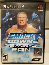 WWE SmackDown Here Comes The Pain [PS2] [PlayStation 2] [2003] with Sticker