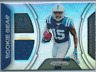 Parris Campbell 2019 Panini Prizm Holo Prizm Rookie Gear Relic Card #RG-PC