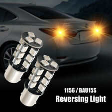 2Pcs Canbus Car Turning Signal Light Reversing Light Bulbs  DC12V Orange 1156