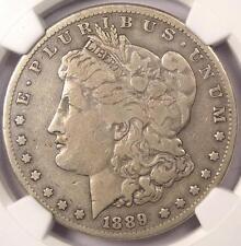 1889-CC Morgan Silver Dollar $1 - NGC VF Details - Rare Carson City Coin