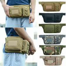 Utility Tactical Fanny Pack Pouch Military Camping Outdoor Belt Bag US Stock