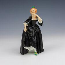 William Goebel Porcelain - Hand Painted Lady Figure - Slight Damage But Lovely!