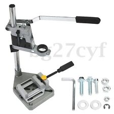 Plunge Power Drilling Stand Holder Bench Pillar Pedestal Clip & Drill Press Vise
