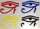 Egypt Eye Horus Decal Sticker Outdoor Quality Vinyl Colour Choice Buy2 Get 1Free