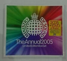 Ministry of Sound: The Annual 2005 (2x CD + DVD) ( Limited Edition Box Set )