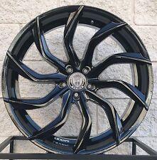 """22"""" Lexani Matisse Wheels Fit Mercedes Benz S550 S63 CL550 CL63 Black Concave"""