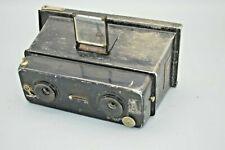 Antique Rare Photo-Plait Stereo Camera
