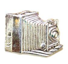 N.S. Meyer Inc. New York Sterling Vintage Antique Camera Lapel Pin