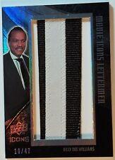 2008 Upper Deck Movie Icons Lettermen Billy Dee Williams 10/47 BW4