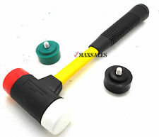 4 in 1 Quick Change Multi Head Hammer With heads that won't mark or spark