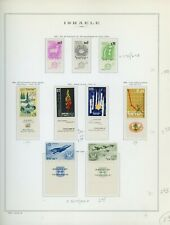 ISRAEL Marini Specialty Album Page Lot #20 - SEE SCAN - $$$