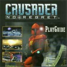 Crusader: No Regret PC CD top-down moon weapons rebel enemy action game sequel!