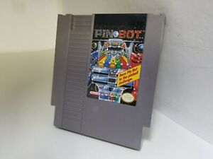 PINBOT Nintendo NES Cartridge Only Cleaned +Tested Works GREAT K35