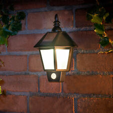 New Outdoor Solar Powered Coach Wall Light With PIR Sensor- 318744