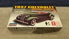 Vintage Lindberg 1937 Chevrolet Conv. 1:32 Scale Plastic Model Sealed Boxed