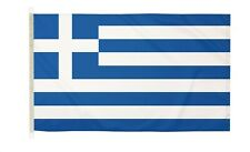 DuraFlag  Greece  5ft x 3ft Flag with Clips And Hooks