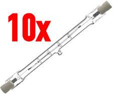10 x Philips Halogen Stab R7s 500W 118mm warmweiß dimmbar Stablampe Flutlicht