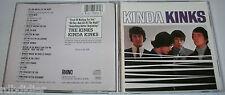 THE KINKS  KINDA KINKS  IMPORT    CD  RARE