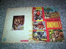 ALBUM figurine ANIMALI LAMPO 1964 COMPLETO NO PANINI EDIS MIRA RELI BEA IMPERIA