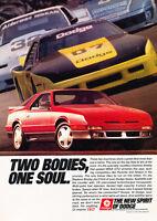 1989 Dodge Daytona Shelby - Soul - Classic Vintage Advertisement Ad D66