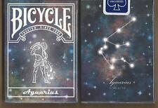 1 DECK Bicycle Constellation AQUARIUS zodiac playing cards FREE USA SHIPPING