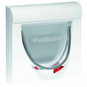 PetSafe Staywell Magnetic Cat Flap Pet Door with Collar Magnet Entry & Locking