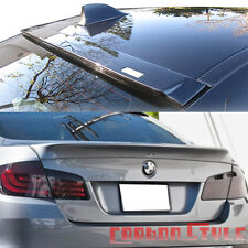 Painted Color BMW F10 A Style Rear Trunk Spoiler Boot &  Roof Wing 550i 535i