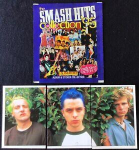 1995 Panini Smash Hits GREEN DAY Rookie Card Sticker Billie Joe Armstrong RC