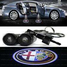 Luci proiettori Led portiera logo Alfa Romeo luce cortesia led 147 159 GT 156