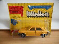 Mebetoys / Litteltois Fiat Ritmo 65 in Yellow on 1:43 on Blister