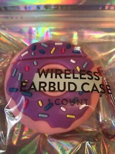 ANKYO - Wireless Earbud Case - Pink Donut 🍩Sprinkles Key Chain Bakery