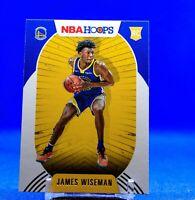 2020-21 NBA Hoops James Wiseman Rookie RC Golden State Warriors Top Rookie 🔥