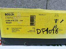 DESTOCKAGE ! Paire de disque frein AVANT RENAULT CLIO KANGOO R19 R21 SUPER 5
