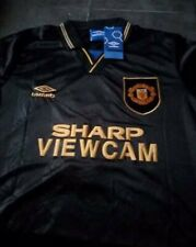 Retro Manchester United Away Shirt 1994 Cantona Kung Fu Sizes S-XL BNWT MUFC