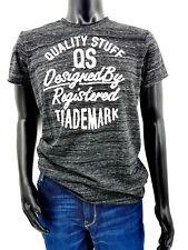 S.Oliver Herren T-Shirt schwarz meliert Gr. L