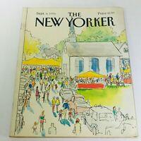 The New Yorker: September 8 1986 - Full Magazine/Theme Cover Arthur Getz