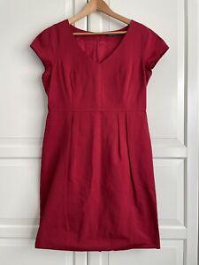 Sportscraft Pencil Dress Size 14 Cotton Blend