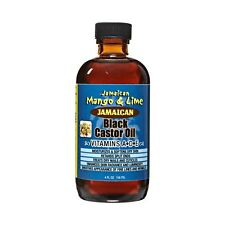 Jamaican Mango & Lime Black Castor Oil Vitamins A,D,E. 4 oz