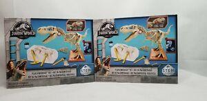 Lot Of 2 NEW Jurassic World STEM Playleontology Kit DINOSAURS Mattel FW